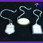 BEST Value 500 Paper String Swing Price Tags-Silver or Gold | AUSSIE Seller