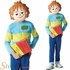 Boys Horrid Henry Book Week Cartoon Outfit Fancy Dress Costume + Mask Ages 5-8