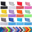 "MacBook Pro 15"" Inch Retina Rubberized Plastic Protective Case + Keyboard Skin"