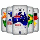 HEAD CASE DESIGNS GEOMETRIC MAPS HARD BACK CASE FOR SAMSUNG PHONES 4