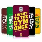 HEAD CASE DESIGNS FUNNY WORKOUT STATEMENTS HARD BACK CASE FOR SAMSUNG PHONES 2