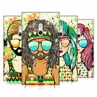 HEAD CASE DESIGNS SUMMER HIPPIES HARD BACK CASE FOR NOKIA PHONES 2