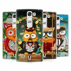 HEAD CASE DESIGNS FANCIFUL OWLS HARD BACK CASE FOR LG PHONES 2