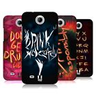 HEAD CASE DESIGNS DRINK MODERATELY HARD BACK CASE FOR HTC PHONES 3