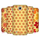HEAD CASE DESIGNS FLORAL PATTERN HARD BACK CASE FOR HTC PHONES 3