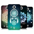 HEAD CASE DESIGNS SNOWFLAKES HARD BACK CASE FOR HTC PHONES 3