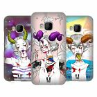 HEAD CASE DESIGNS FAD MONSTERS HARD BACK CASE FOR HTC PHONES 1