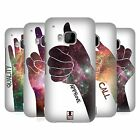 HEAD CASE DESIGNS HAND GESTURE NEBULA HARD BACK CASE FOR HTC PHONES 1