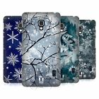 HEAD CASE DESIGNS WINTER PRINTS HARD BACK CASE FOR LG PHONES 3