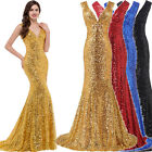 Sexy Women Long Bridesmaid Wedding Evening Gown Party Formal Homecoming Dresses