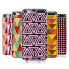 HEAD CASE DESIGNS TRIANGLES HARD BACK CASE FOR APPLE iPOD TOUCH MP3