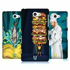HEAD CASE DESIGNS PROFESSION INSPIRED - FOOD LEAGUES BACK CASE FOR SONY PHONES 4