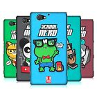 HEAD CASE DESIGNS NERDY TOON ANIMALS HARD BACK CASE FOR SONY PHONES 4