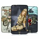HEAD CASE DESIGNS ARMY PIN-UP CHIC HARD BACK CASE FOR SAMSUNG TABLETS 2