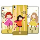 HEAD CASE DESIGNS BUTTERFLY CATCHER HARD BACK CASE FOR SONY PHONES 2