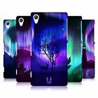 HEAD CASE DESIGNS NORTHERN LIGHTS HARD BACK CASE FOR SONY PHONES 2