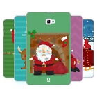 HEAD CASE DESIGNS SANTAS MISADVENTURES HARD BACK CASE FOR SAMSUNG TABLETS 1