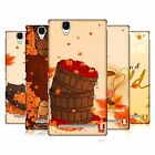 HEAD CASE DESIGNS AUTUMN HARD BACK CASE FOR SONY PHONES 3