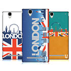 HEAD CASE DESIGNS LONDON CITYSCAPE HARD BACK CASE FOR SONY PHONES 3