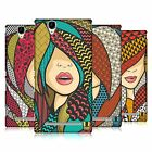 HEAD CASE DESIGNS PATTERN CHIC HARD BACK CASE FOR SONY PHONES 3