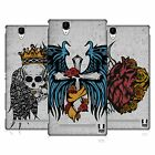 HEAD CASE DESIGNS TATTOO WINGS HARD BACK CASE FOR SONY PHONES 3