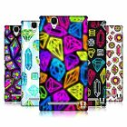 HEAD CASE DESIGNS VIVID PRINTED JEWELS HARD BACK CASE FOR SONY PHONES 3
