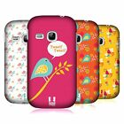 HEAD CASE DESIGNS BIRD PATTERNS HARD BACK CASE FOR SAMSUNG PHONES 5