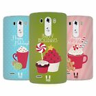 HEAD CASE DESIGNS HOLIDAY TREATS SOFT GEL CASE FOR LG PHONES 1