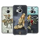 HEAD CASE DESIGNS ARMY PIN-UP CHIC SOFT GEL CASE FOR HTC PHONES 2