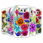 HEAD CASE DESIGNS WATERCOLOURED FLOWERS SOFT GEL CASE FOR SAMSUNG PHONES 1