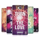 HEAD CASE DESIGNS EDM LOVE SOFT GEL CASE FOR SONY PHONES 3