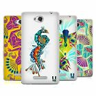 HEAD CASE DESIGNS PEACOCK GEOMETRY SOFT GEL CASE FOR SONY PHONES 3