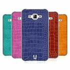 HEAD CASE DESIGNS CROCODILE SKIN PATTERN SOFT GEL CASE FOR SAMSUNG PHONES 3