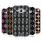 HEAD CASE DESIGNS ARGYLE INSPIRED WHIRLS SOFT GEL CASE FOR SAMSUNG PHONES 4