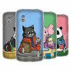 HEAD CASE DESIGNS ANIMALS BREAKTIME SOFT GEL CASE FOR LG PHONES 3