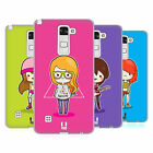 HEAD CASE DESIGNS COOL GIRLS SOFT GEL CASE FOR LG PHONES 3