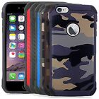 For iPhone 6 /6s ETM HYBRID TPU Hard Case Colors