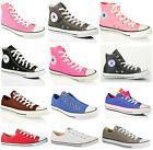 Converse all star chuck taylor canvas hi lo top casual leather trainers shoes