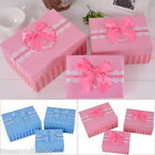 1Set New Cuboid Gift Box Sweet Dots Lace Pattern Ribbon 3 Different sizes