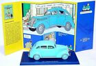 TINTIN Hergé 1:43 FORD V8 1937 Atlas Comic Book TV Model Car + Figures 025 MIB!