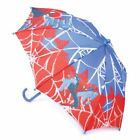 K123 BOYS MARVEL SUPER HERO SPIDERMAN BROLLY WATERPROOF DOME BUBBLE UMBRELLA NEW