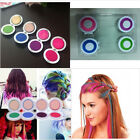 4 Colors Non-toxic DIY Temporary Hair Chalk Special Color Dye Pastels Salon Kit
