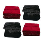 Scatter Box Marrakesh Faux Velvet Quilted Throw
