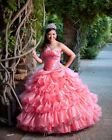 New Style Pageant Quinceanera Dresses Prom Party Birthday Dress Formal Gowns