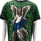 r55 Rock Eagle T-shirt SPECIAL Tattoo Skull Fairy Ghost Angel Heaven Men Cotton