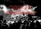 Firewind - Mercenary Man - Rock Lyrics Poster Black and White Music On Stage