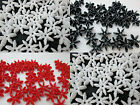 50 - 18mm Opaque Starflake / Paddlewheel Beads Color Choice