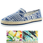 Luichiny En Dearing Women's Espadrille Slip On Shoes Sneakers Aztec Assorted