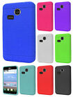 For LG Lucky L16C Rubber SILICONE Soft Gel Skin Case Phone Cover Accessory