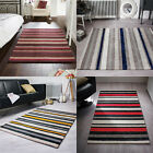 Flair Rugs Tribeca Cotton Stripe Woven Hand Tufted Rug